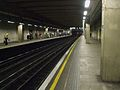 Aldgate East tube stn eastbound looking west.JPG