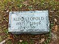 Aldo Leopold's headstone.jpeg