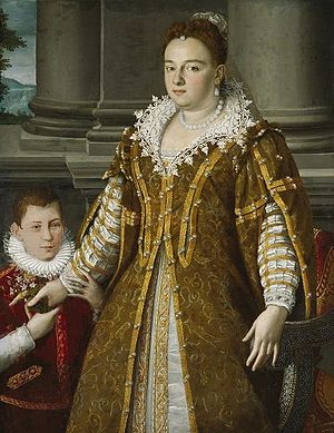 Alessandro Allori - Portrait of Grand Duchess Bianca Capello de Medici, by Allori, Dallas Museum of Art