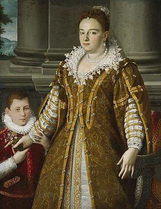 Alessandro Allori - Portrait of Grand Duchess Bianca Capello de Medici, by Allori, Dallas Museum of Art