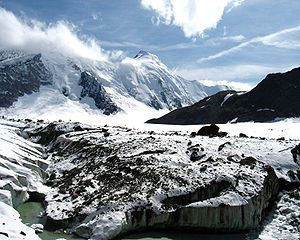 Aletsch Glacier - At Concordia Place