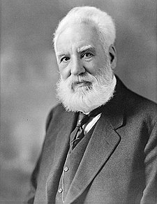 O inventor y scientifico escocés Alexander Graham Bell.