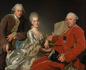 John Jennings Esq., his Brother and Sister-in-Law