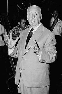 Alfred Hitchcock British filmmaker
