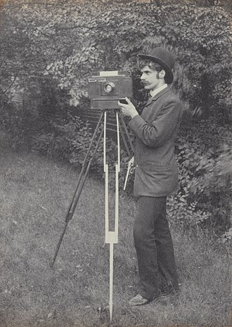 Alfred Stieglitz - 1886 Self-portrait