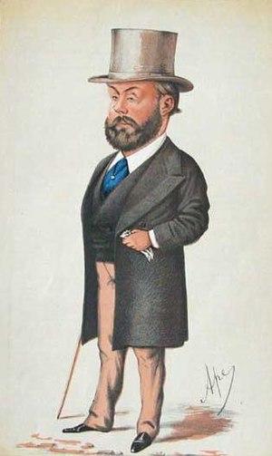 Algernon Borthwick, 1st Baron Glenesk - Caricature of Borthwick by Carlo Pellegrini ('Ape') in Vanity Fair, 1871