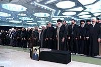 Ali Khamenei Praying for Ayatollah Hashemi Shahroudi09.jpg