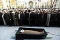 Ali Khamenei Praying for Mojtaba Tehrani's Body 05.jpg