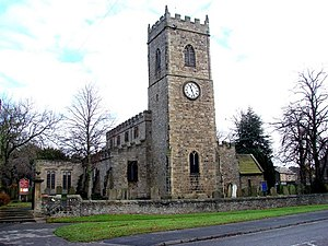 Lanchester, County Durham - All Saints Church, Lanchester