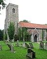 All Saints Church - adorned with virginia creeper - geograph.org.uk - 1395231.jpg