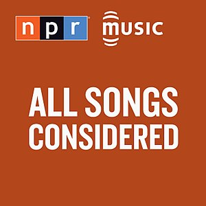 All Songs Considered - Image: All Songs Considered