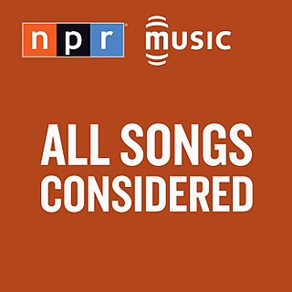 <i>All Songs Considered</i>