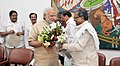 All party delegation from the Karnataka led by the Chief Minister of Karnataka, Shri Siddaramaiah calling on the Prime Minister, Shri Narendra Modi, in New Delhi on April 30, 2015.jpg