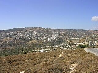 Souf City in Jerash Governorate, Jordan