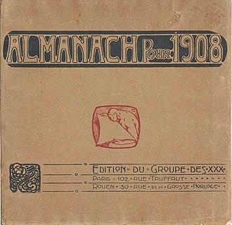 Société Normande de Peinture Moderne - Almanach pour 1908, Edition du Group des XXX, December 1907, Paris, Rouen