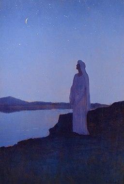 Alphonse Osbert, Rêverie en la Nuit, 1895