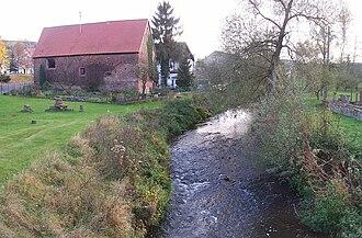 Alsenz (river) - Image: Alsenz river oberndorf s