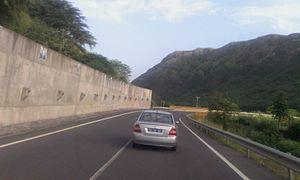 Transport in Cape Verde - An alternative route in Sao Domingos, Cape Verde