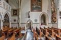 Althofen Pfarrkirche hl Thomas von Canterbury Schiff 24062015 5238.jpg