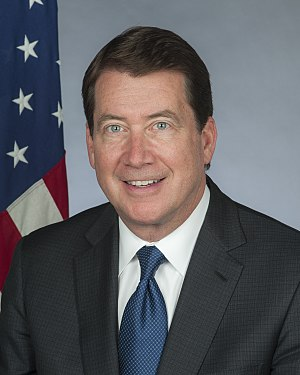 United States Ambassador to Japan - Image: Ambassador Hagerty
