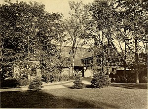 John Nicholas Brown II - Harbour Court, Brown's cottage, now the Newport branch of the New York Yacht Club