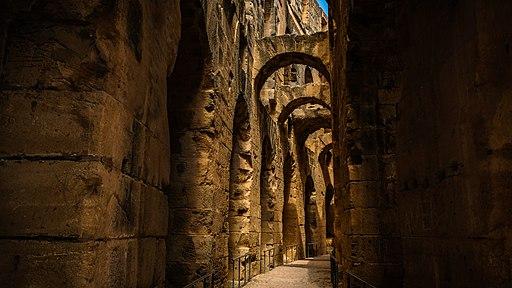 Amphitheater of El Jem - interior 2