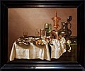 Amsterdam - Rijksmuseum 1885 - Gallery of Honour (1st Floor) - Still life with gilt goblet 1635 by Willem Claesz. Heda.jpg