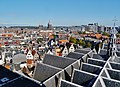 Amsterdam Oude Kerk Blick vom Turm aufs Dach 3.jpg