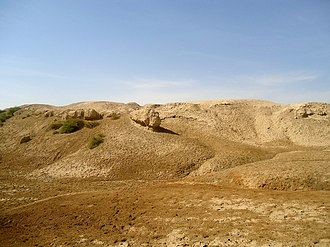 Kish (Sumer) - Image: An ancient mound at the city of Kish, Mesopotamia, Babel Governorate, Iraq
