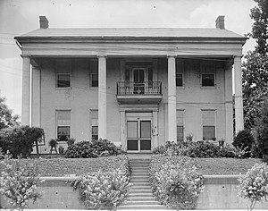 National Register of Historic Places listings in Warren County, Mississippi - Image: Anchuca