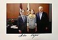 Anda Skadmane Marcis-Liors-Skadmanis-Latvian-President-A.Berzins 2013 December.jpg