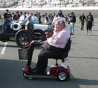 Andy Granatelli American racing driver (1923-2013)