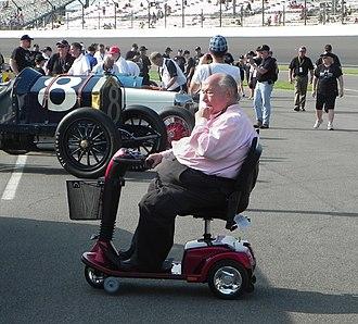 Andy Granatelli - Andy Granatelli at the 2011 Indianapolis 500