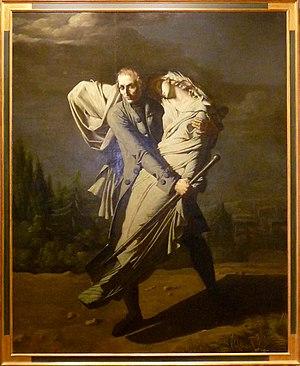 Au clair de la lune - Young et sa fille by Vafflard