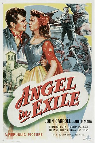 Angel in Exile - Theatrical release poster