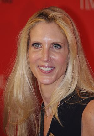 English: Ann Coulter at the 2011 Time 100 gala.