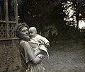 Anna Iwaszkiewiczowa with daughter - Stanisław Wilhelm Lilpop.jpg