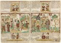 Anonymous - The Bible of the Poor (Biblia Pauperum),--Pharaoh's Army Drowned in the Red - 1986.91 - Cleveland Museum of Art.tif