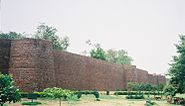 Another view of Salimgarh Fort with bastions2