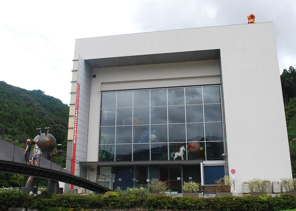 Anpanman Museum,Kami-city,Japan