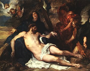 Deposition (van Dyck, 1634) - Image: Anthony van Dyck Deposition WGA07436