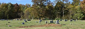 National Register of Historic Places listings in Jefferson County, Arkansas - Image: Antioch Missionary Baptist Church Cemetery