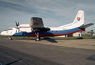 2006 Slovak Air Force Antonov An-24 crash aviation accident