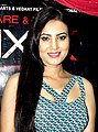 Anusmriti Sarkar at the first look launch of Hindi film Six X in 2016 (01).jpg