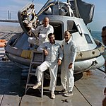 Apollo 9 backup crew water egress training (S68-51700).jpg