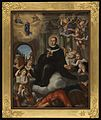 Apotheosis of an ecclesiastic. Oil painting. Wellcome L0076183.jpg
