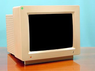 Apple displays - The AppleColor RGB, an analog RGB display made for the Apple IIGS.