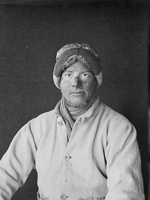 Apsley Cherry-Garrard - Apsley Cherry-Garrard, photographed by Herbert Ponting during the Terra Nova Expedition