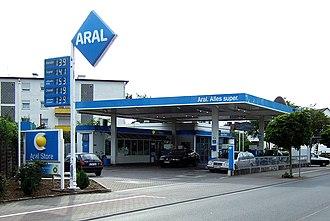 Aral AG - An Aral petrol station (2007)