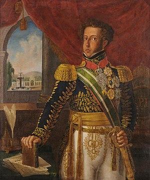 April Revolt (Pernambuco) - Portrait of Pedro I.